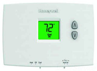 Honeywell Pro TH1110DH1003/U 20 To 30Vac Premier White Non-Programmable Thermostat