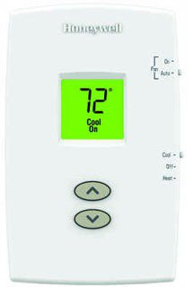 Honeywell Pro TH1110DV1009/U 20 To 30Vac Premier White Non-Programmable Thermostat