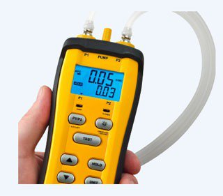 SDMN6 Dual Port Manometer And Pressure Switch Tester