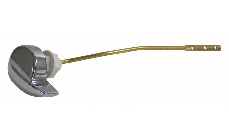 """Kissler 60-1632 9"""" Chrome Brass Toilet Tank Lever Handle And Arm"""