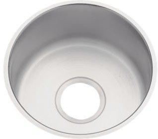 """Elkay DXUH12FB 18 Gauge Stainless Steel Single Bowl Undermount Bar/Prep Sink, 14.5 X 6"""""""