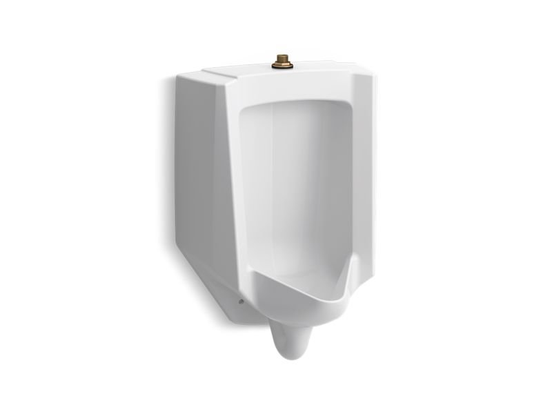 Kohler K-4991-ET-0 Bardon Accuflush 1/8 Gpf Urinal - Top
