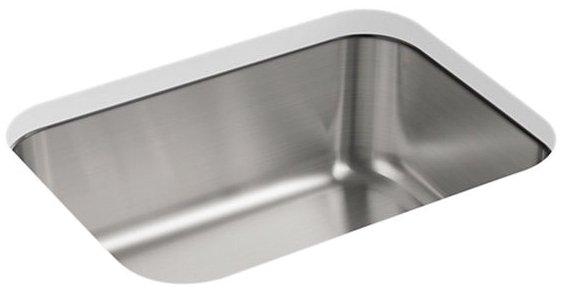 "Sterling Mcallister J11447-NA 23-3/8"" X 17-11/16"" 8"", Stainless Steel, 3-Pack, Under Mount, 1-Bowl, Kitchen Sink"