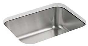 """Sterling Mcallister T11447-NA 23-3/8"""" X 17-11/16"""" 8"""", Stainless Steel, 20-Pack, Under Mount, 1-Bowl, Kitchen Sink"""
