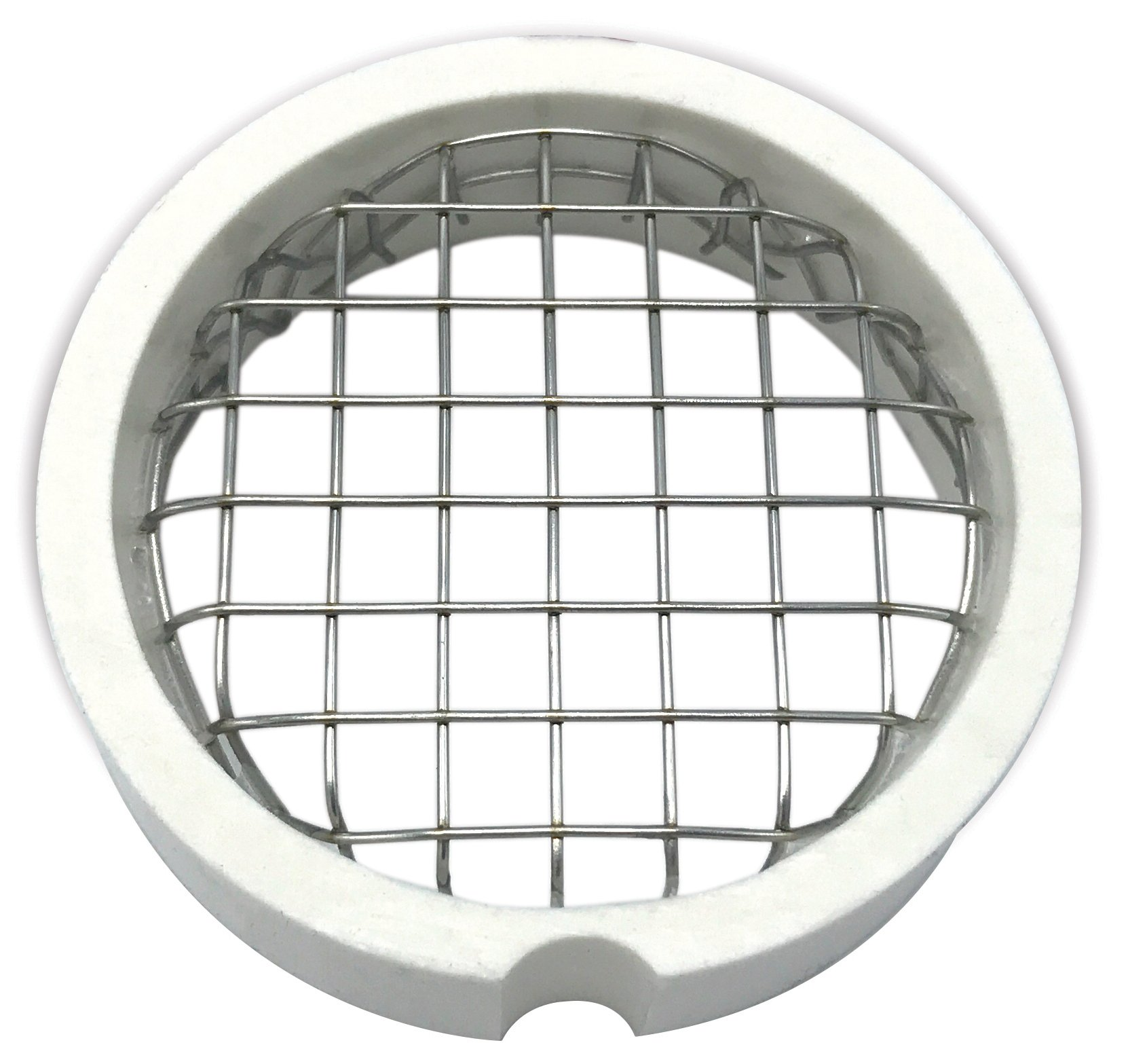 """Walrich 2202056 6"""" Boiler Termination Vent And Screen"""