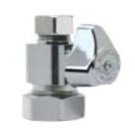 Brass Craft G2CR14X-C 1/2 Nom. By 3/8 Od Straight Stop Lead-Free, Chrome
